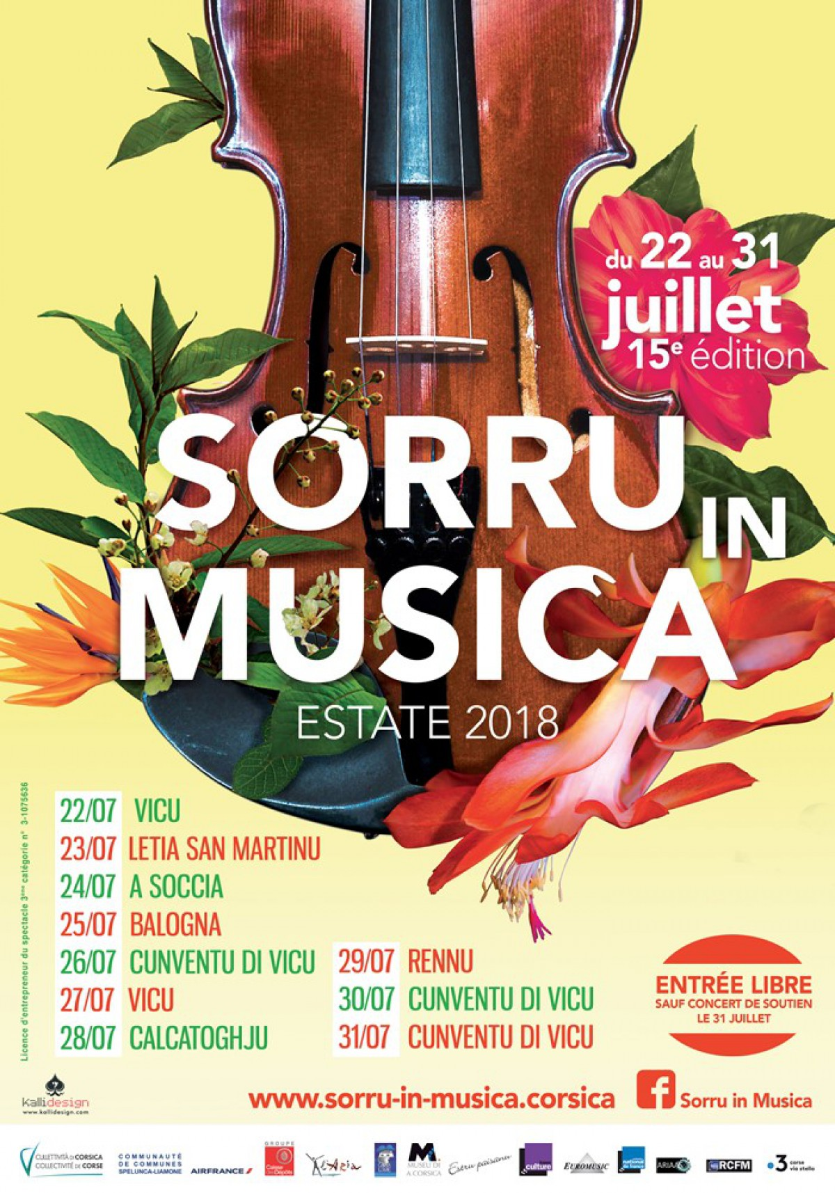 Festival Sorru In Musica Online Magazin Für Reisen Und