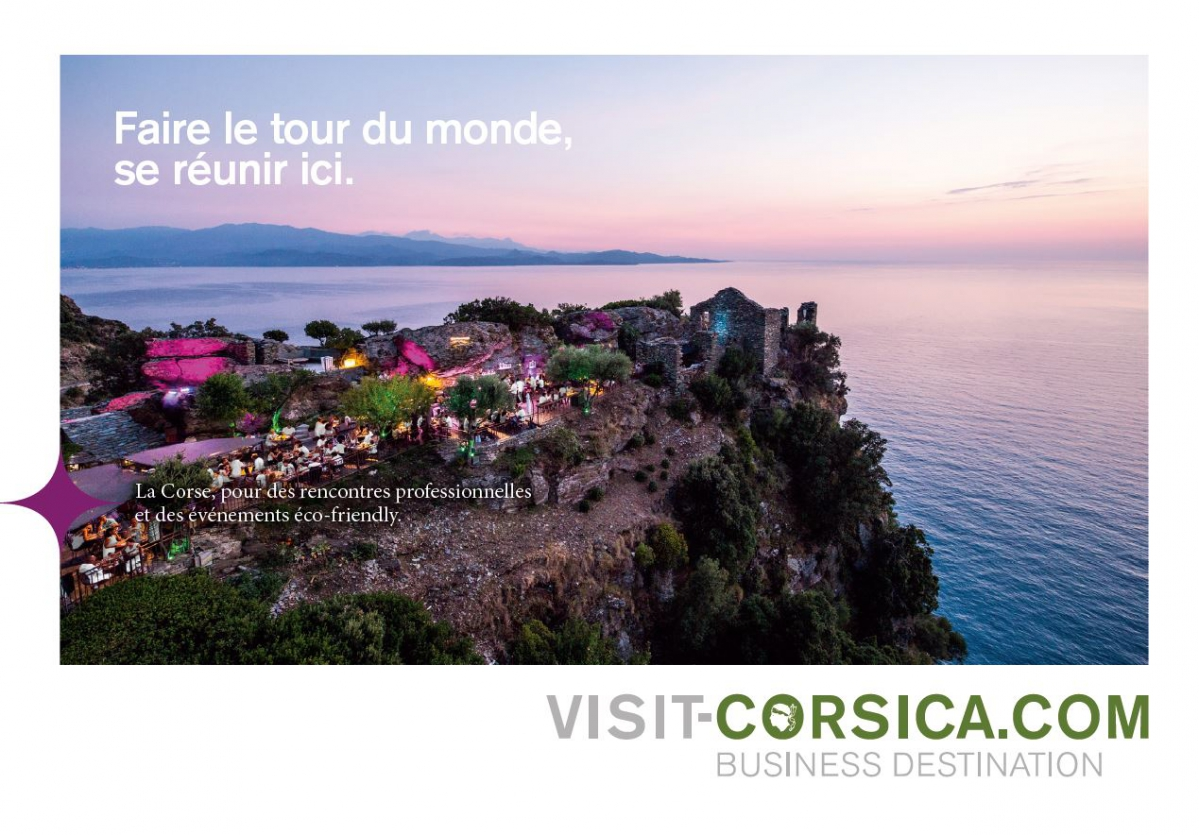 The new e-brochure ATC business tourism is online! | Corsica
